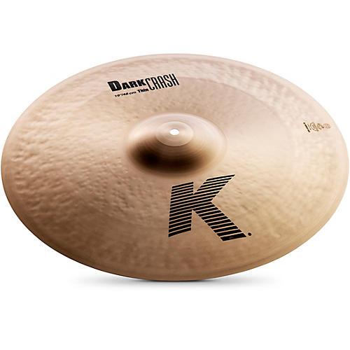 Zildjian K Dark Thin Crash Cymbal  19 in.