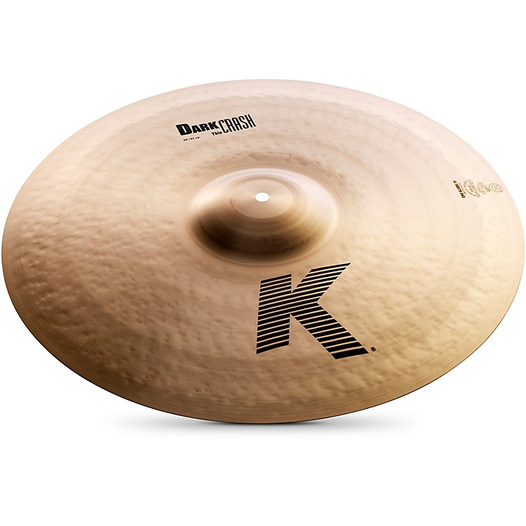 Zildjian K Dark Thin Crash Cymbal  20 Inch