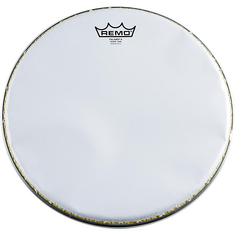 Remo K-Falam Smooth White Snare Side Drum Head  13 Inch