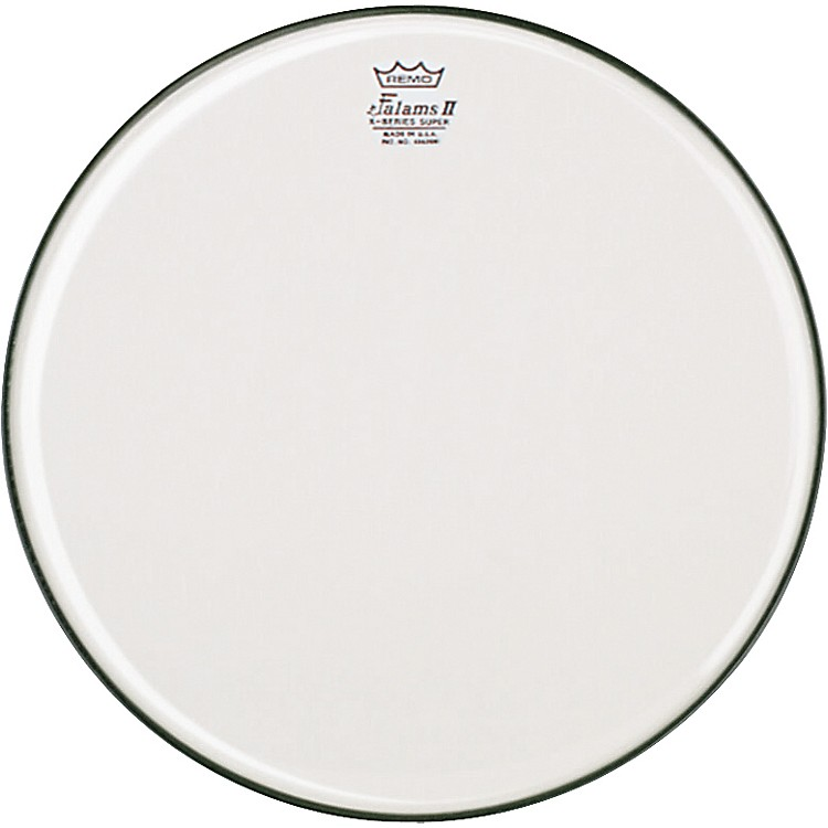 Remo K-Falam Smooth White Snare Side Drum Head  14 Inch