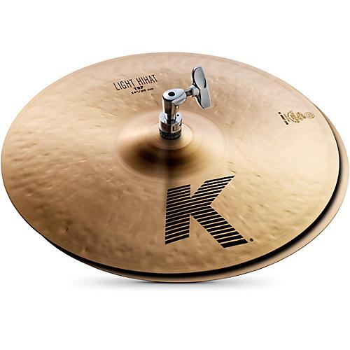 Zildjian K Light Hi-Hat Pair Cymbal-thumbnail