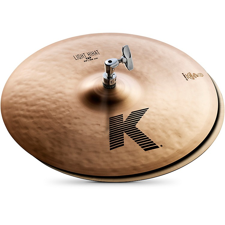 ZildjianK Light Hi-Hat Pair Cymbal15
