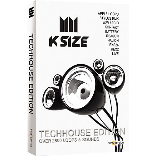 Best Service K Size Techhouse Edition Loops & Sound Library-thumbnail