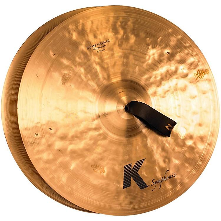 ZildjianK Symphonic Cymbal Pair, Traditional Finish17