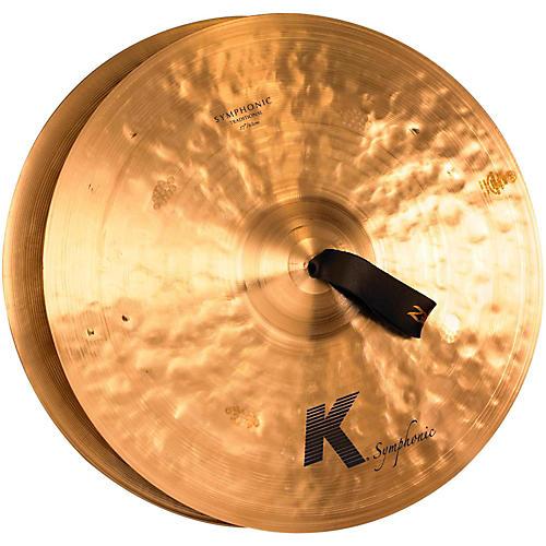 Zildjian K Symphonic Orchestral Crash Cymbal Pair 17