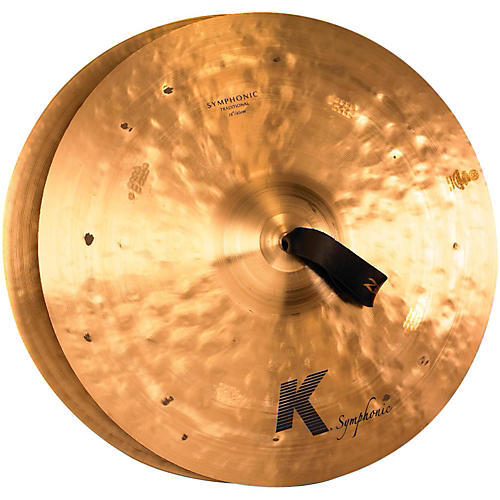 Zildjian K Symphonic Orchestral Crash Cymbal Pair-thumbnail