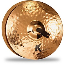 Zildjian K Symphonic Orchestral Light Brilliant Crash Cymbal Pair
