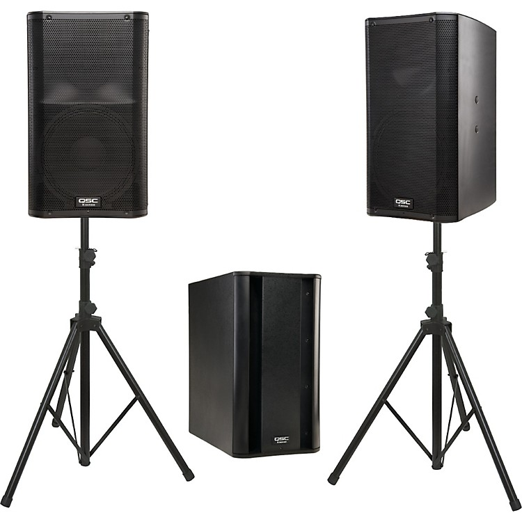 QSC K12 Powered Speaker Package