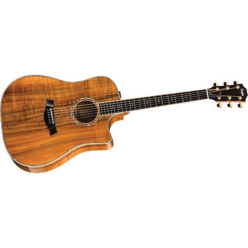 Taylor K20ce-L Koa Dreadnought Left-Handed Acoustic-Electric Guitar-thumbnail