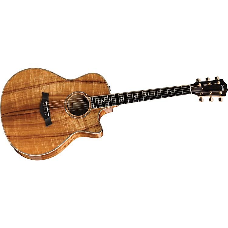 TaylorK26ce-L Koa Grand Symphony Left-Handed Acoustic-Electric