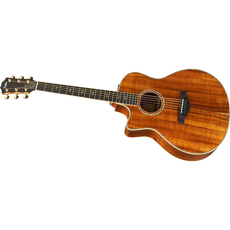 TaylorK26ce Left-Handed Grand Symphony Acoustic-Electric Guitar