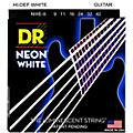 DR Strings K3 NEON Hi-Def White Electric Lite Guitar Strings
