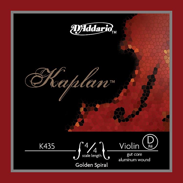 D'AddarioK435 Kaplan Golden Spiral 4/4 Size Violin D String