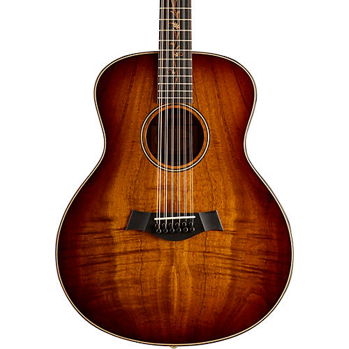 Taylor K66 Koa Grand Symphony 12-String Acoustic Guitar Shaded Edgeburst