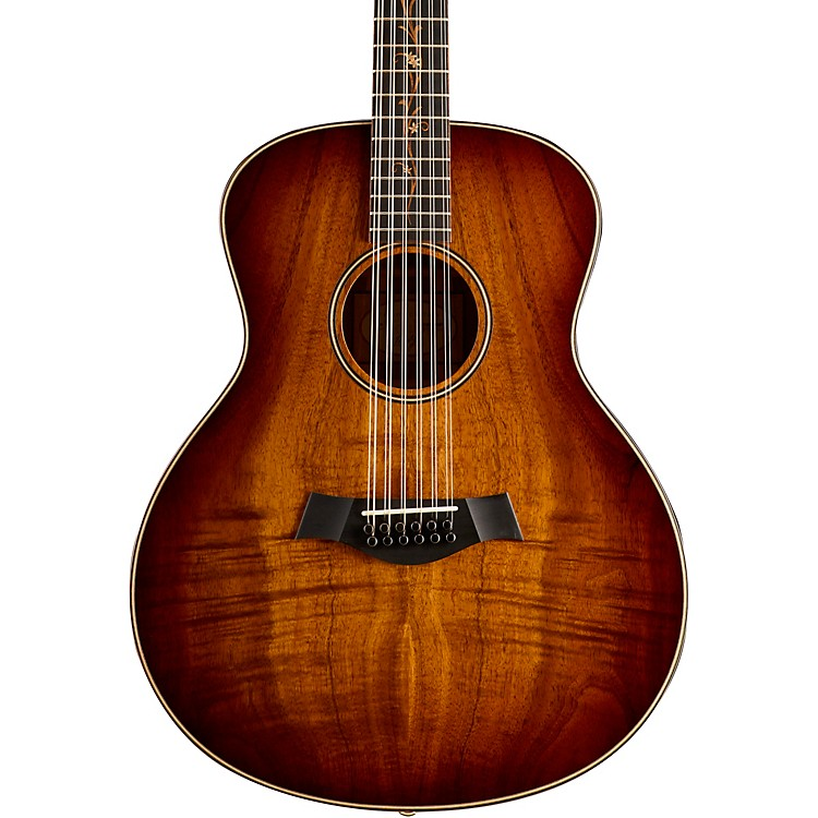 Taylor K66 Koa Grand Symphony 12-String Acoustic Guitar Shaded Edgeburst