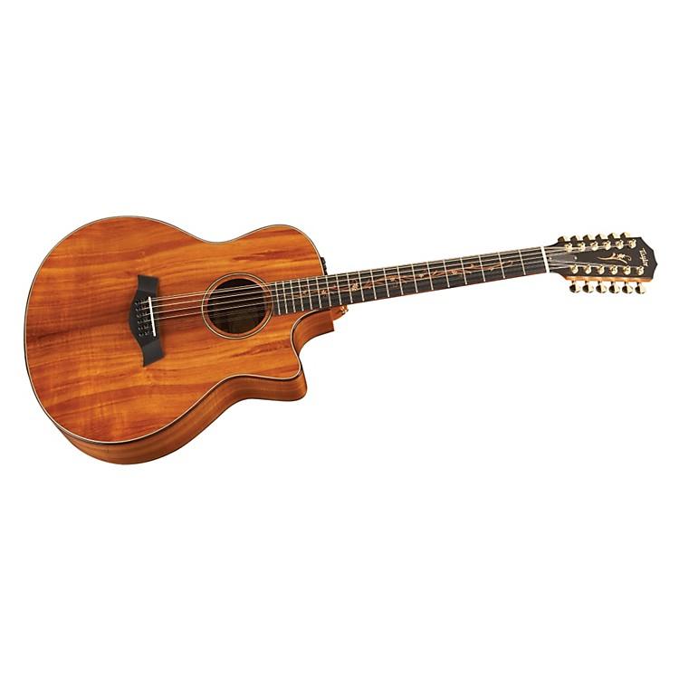 TaylorK66ce Koa Grand Symphony 12-String Acoustic-Electric Guitar