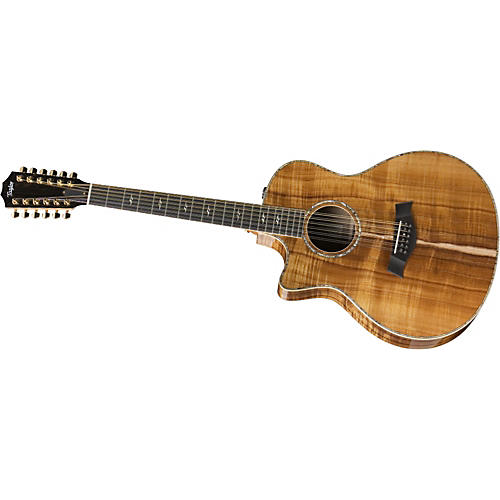 Taylor K66ce Left-Handed 12-String Grand Symphony Acoustic-Electric Guitar-thumbnail