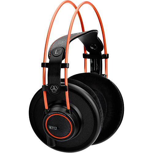 AKG K712 Pro Open Over Ear Mastering Referencing Headphones-thumbnail