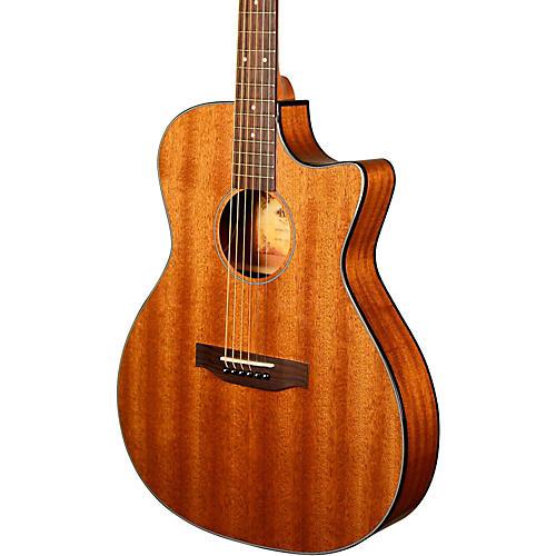 Kala KA-GTR-MTS-E Thinline Mahogany Acoustic-Electric Guitar-thumbnail