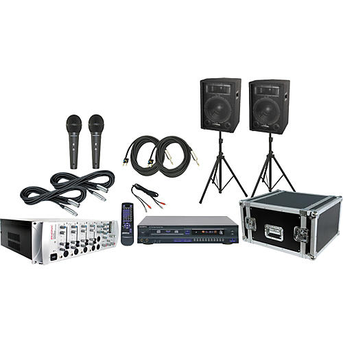 Phonic KA720 Mixer / S712 / DKP-10G Karaoke Package