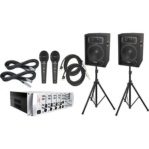 Phonic KA720 Powered Karaoke Mixer / S712 Package
