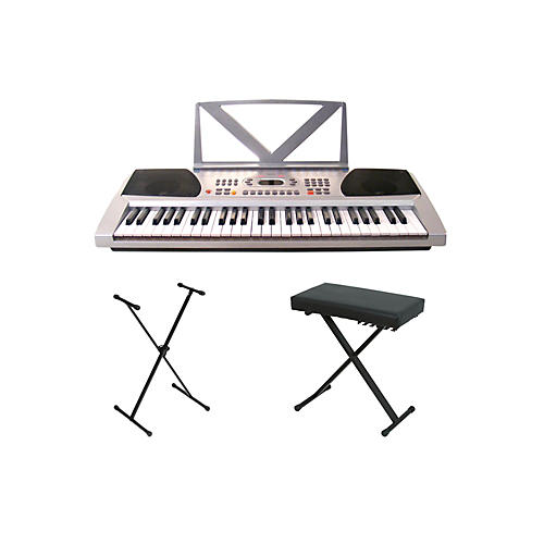 Huntington kb54 portable keyboard w stand and bench musician 39 s friend Keyboard stand and bench