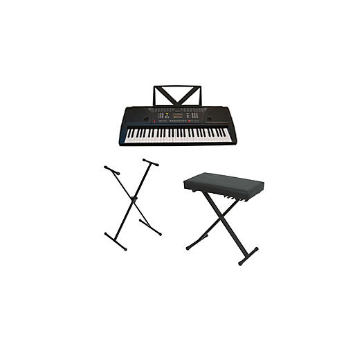 Huntington kb61 portable keyboard w stand and bench musician 39 s friend Keyboard stand and bench