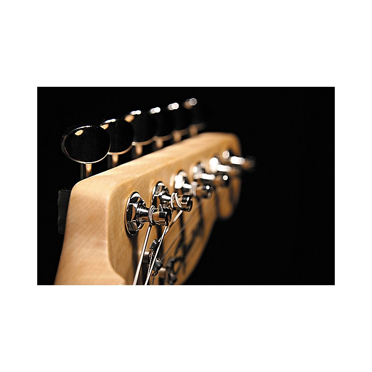 KlusonKF6 F-Style Guitar Tuning Machines - 6 In Line Matching ButtonsChrome