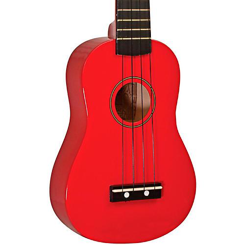 Kohala KG-S Soprano Ukulele Red