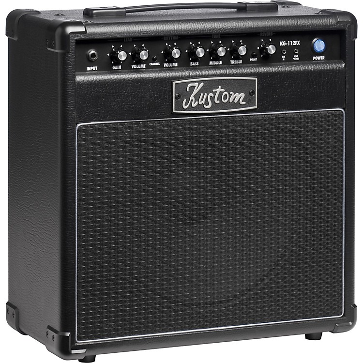 Kustom KG112FX 20W 1x12 Guitar Combo Amp with Digital Effects Black