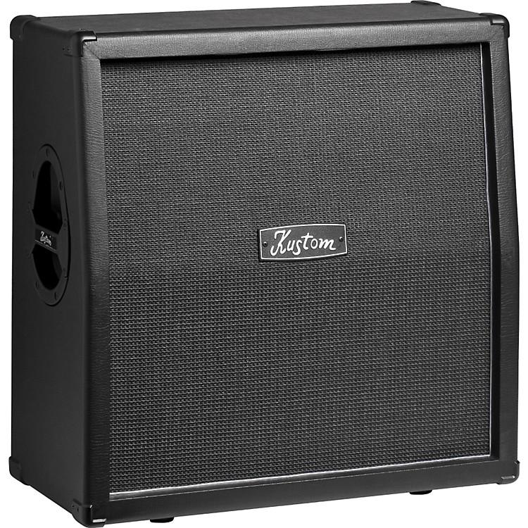 KustomKG412 4x12 Guitar Speaker CabinetBlackSlant