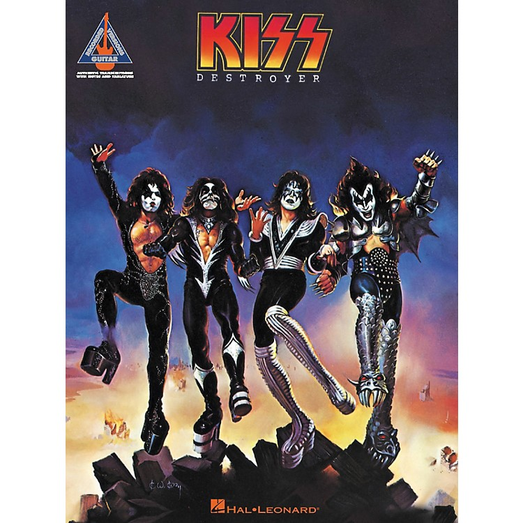 Hal Leonard KISS - Destroyer Guitar Tab Songbook