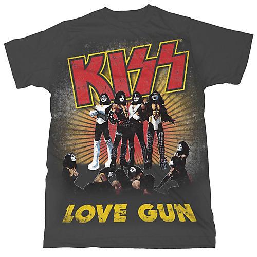 Fea Merchandising KISS - Love Gun T-Shirt