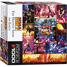 Eurographics KISS - The Hottest Show on Earth Puzzle