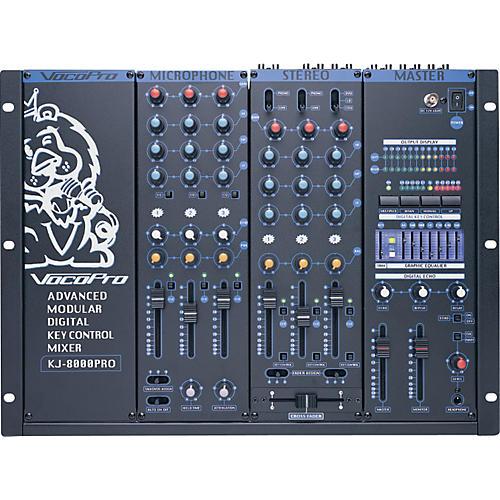 VocoPro KJM-8000 PRO Digital DJ & KJ Karaoke Mixer-thumbnail