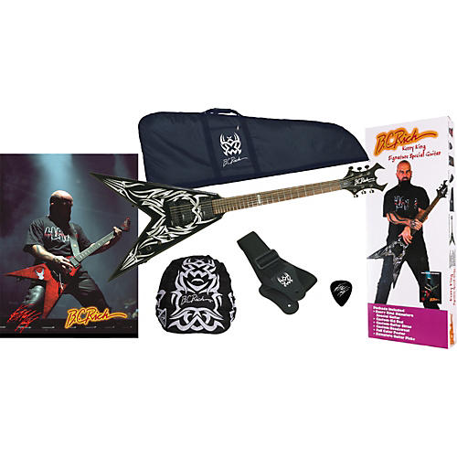 B.C. Rich KKV Kerry King Electric Guitar Package