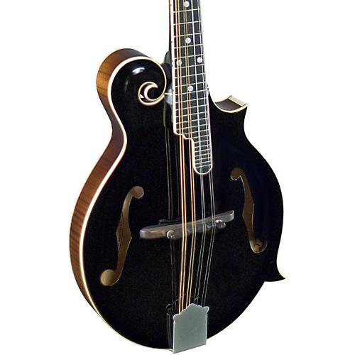 Kentucky KM-1000B Master F-Model Mandolin Black Top, Sunburst Back and Sides