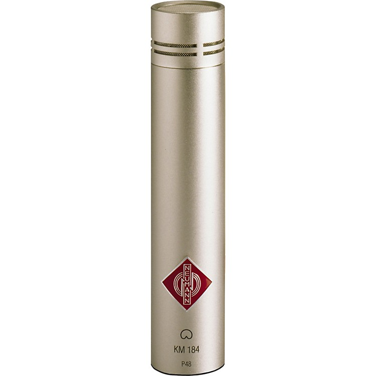 Neumann KM 184 Small Diaphragm Condenser Microphone Satin Nickel