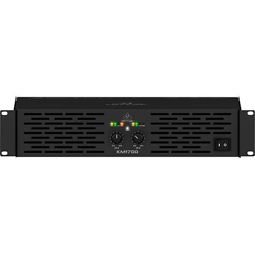 Behringer KM1700 Professional 1700-Watt Stereo Power Amplifier with ATR