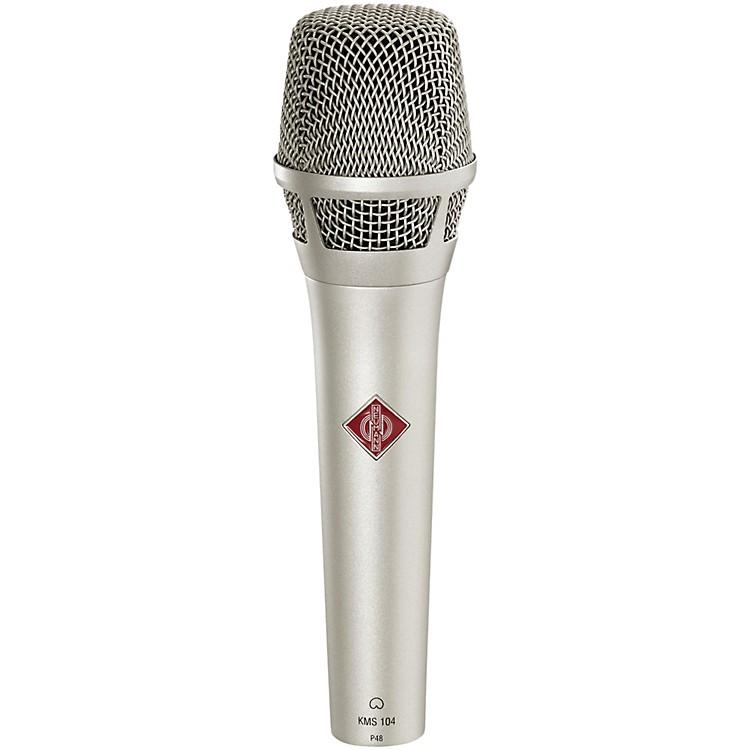 NeumannKMS 104 Handheld Vocal Condenser MicrophoneNickel