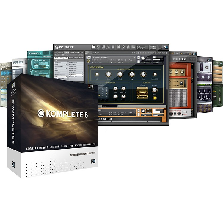 Native Instruments KOMPLETE 6 - The Native Instruments Collection Software