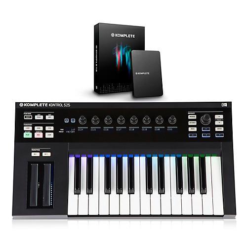 Native Instruments KOMPLETE KONTROL S25 Keyboard Controller with KOMPLETE 11-thumbnail