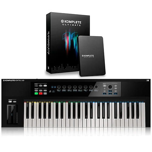 Native Instruments KOMPLETE KONTROL S49 Keyboard Controller with KOMPLETE 11 Ultimate-thumbnail