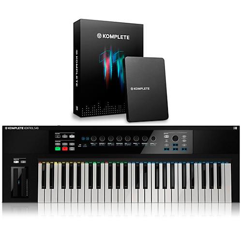 native instruments komplete kontrol s49 keyboard controller with komplete 11 musician 39 s friend. Black Bedroom Furniture Sets. Home Design Ideas