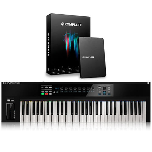 Native Instruments KOMPLETE KONTROL S61 Keyboard Controller with KOMPLETE 11
