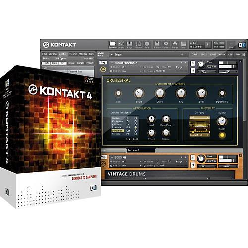 Native Instruments KONTAKT 4 Software