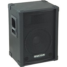 """Kustom PA KPC12 12"""" PA Speaker Cabinet with Horn Level 2 Regular 888366025048"""