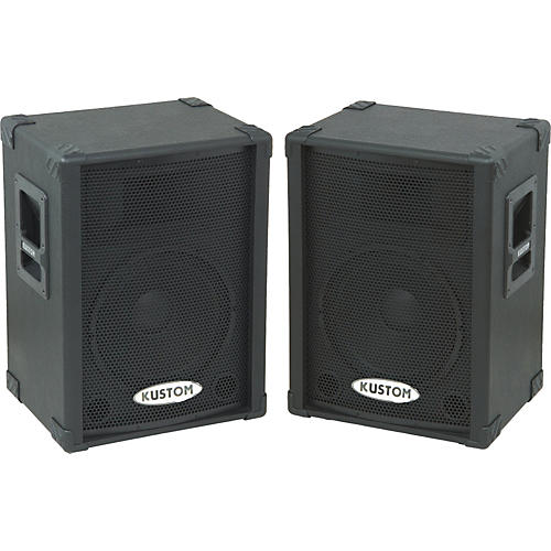 Kustom KPC12P Powered Speaker Pair