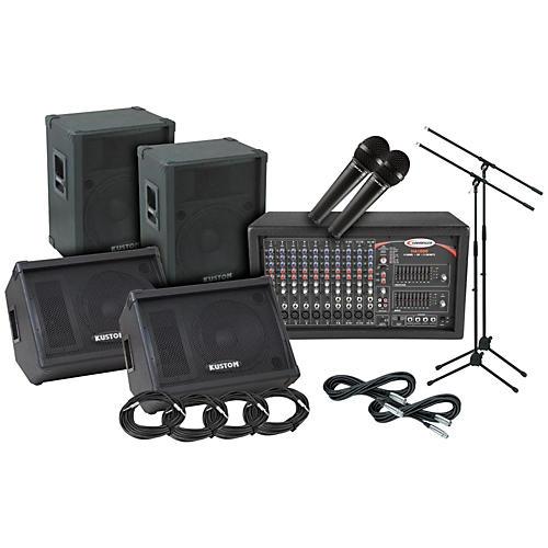Kustom PA KPC15 Harbinger PA/Monitor Package-thumbnail