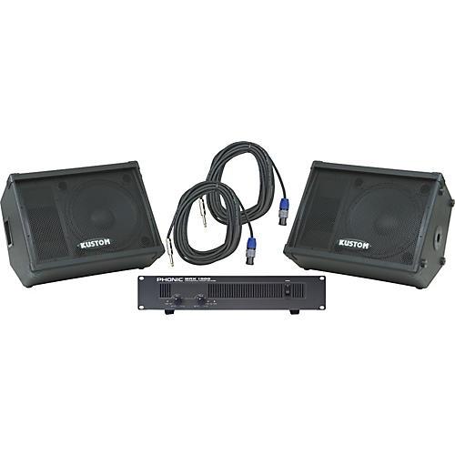 Kustom KPC15M / Phonic MAX 1000 Spkr & Amp Package